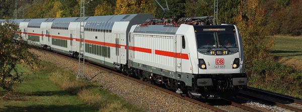Brawa 43816 - German TRAXX Electric Locomotive BR 147.5 of the DB AG (DCC Sound Decoder)