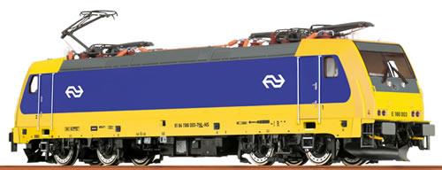 Brawa 43942 - Dutch Electric Locomotive BR186 of the NS - Analog BASIC+