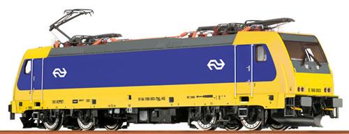 Brawa 43943 - Dutch Electric Locomotive BR186 of the NS - AC Digital BASIC+