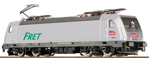 Brawa 43954 - French Electric Locomotive BR186 Akiem of the SNCF - Analog BASIC+