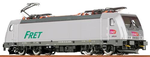 Brawa 43955 - French Electric Locomotive BR186 Akiem of the SNCF - AC Digital BASIC+