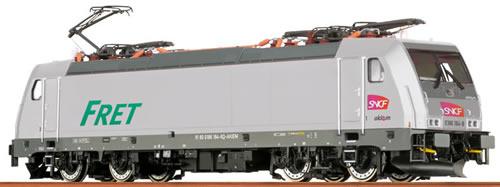 Brawa 43957 - French Electric Locomotive BR186 Akiem of the SNCF - AC Digital EXTRA (Sound Decoder)