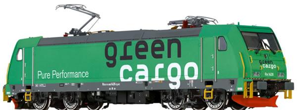 Brawa 43969 - Swedish Electric Locomotive Re 1428 GreenCargo EXTRA (AC Sound)