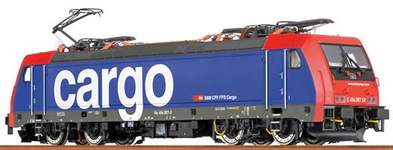 Brawa 43984 - Swiss Electric Locomotive BR 484 TRAXX of the SBB Cargo - BASIC+