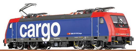 Brawa 43985 - Swiss Electric Locomotive BR 484 TRAXX of the SBB Cargo - AC BASIC+