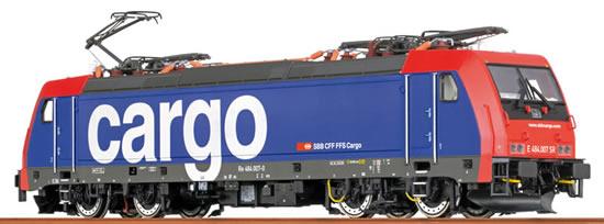 Brawa 43987 - Swiss Electric Locomotive BR 484 TRAXX of the SBB Cargo (Sound Decoder) - AC EXTRA