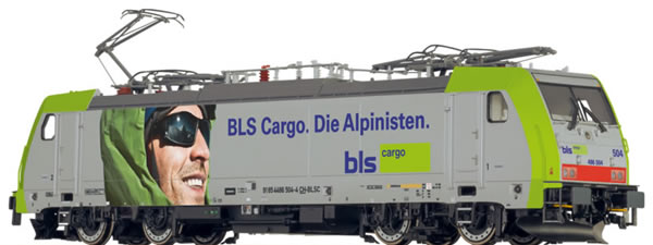 Brawa 43998 - Swiss Electric Locomotive BR 186 Alpinist of the BLS EXTRA (Sound)