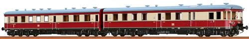 Brawa 44203 - German Railcar VT137 of the DR (Sound Decoder)