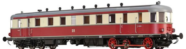 Brawa 44381 - German Diesel Railcar VT137 of the DR (AC Sound)