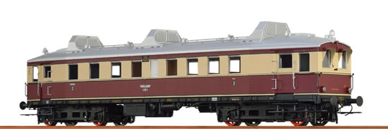 Brawa 44418 - German Diesel Railcar VT 762 of the DRG (DCC Sound Decoder)