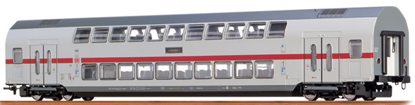 Brawa 44505 - German TWINDEXX Vario IC-Double-Deck Middle Wagon 1st Class DB AG (DC Analog Basic Plus)