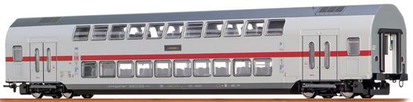 Brawa 44506 - German TWINDEXX Vario IC-Double-Deck Middle Wagon 2nd Class DB AG (DC Analog Basic Plus)
