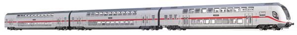 Brawa 44507 - German 3pc TWINDEXX Vario IC-Double-Deck Train of the DB AG (DC Digital Extra)