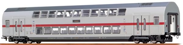 Brawa 44509 - German TWINDEXX Vario IC-Double-Deck Middle Wagon 2nd Class DB AG (DC Digital Extra)