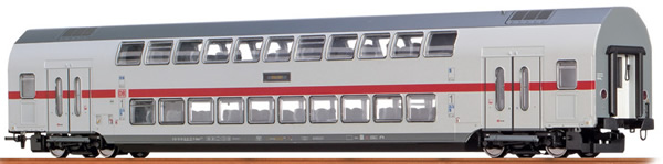 Brawa 44509 - German TWINDEXX Vario IC-Double-Deck Middle Wagon 2nd Class DB AG (DC Digital Extra)