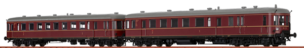 Brawa 44720 - 2pc German Railcar VT 60.5+945 of the DB