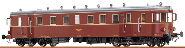 Brawa 44802 - Norwegian Railcar of the NSB (DC Digital Extra w/Sound)