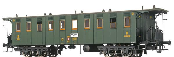 Brawa 45061 - Passenger Coach BC4 SBB
