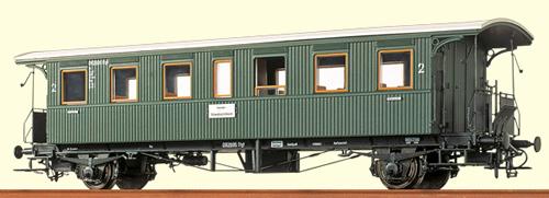 Brawa 45109 - H0 Passenger Coach Bid DB, II