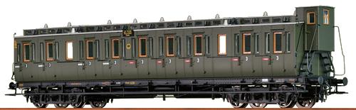 Brawa 45260 - H0 Compartment Coach C4 DRG,
