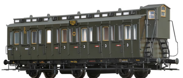 Brawa 45486 - Compartment Coach C3 DRG