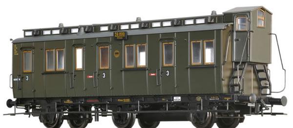 Brawa 45487 - Compartment Coach C3tr DRG