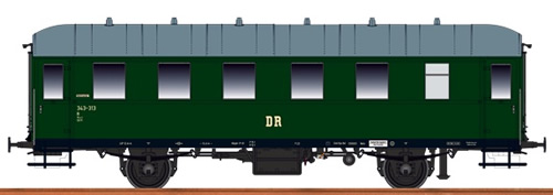 Brawa 45507 - HO Passenger Coach Bi33 DR, I