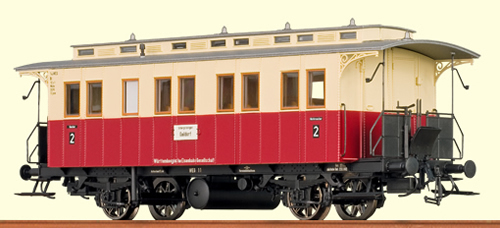 Brawa 45609 - H0 Passenger Coach WEG, III