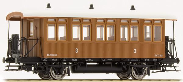 Brawa 45632 - Austrian Passenger Coach Cu of the BBÖ