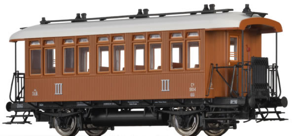 Brawa 45643 - Austrian Passenger Car Cu of the kkStB