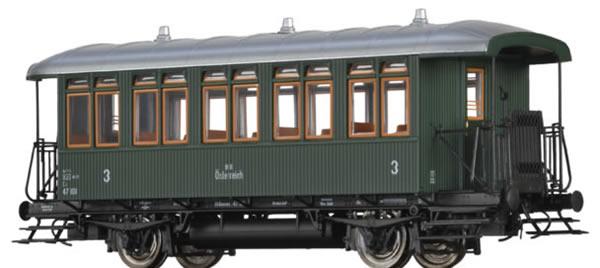 Brawa 45650 - Austrian Passenger Car Cu of the BBO