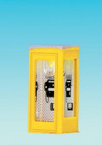 Brawa 4566 - N Telephone Box, illuminated