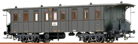 Brawa 45703 - H0 Passenger Coach C4i Wü 01
