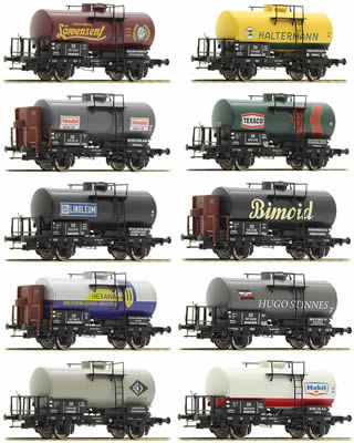 Brawa 45903 - German DB Era III Limited 2016 Toyfair Tank Car Set