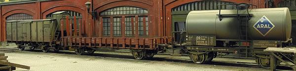 Brawa 45907 - German Freight Car Set (Weathered)