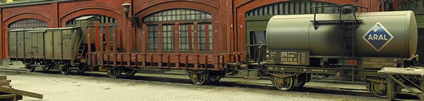 Brawa 45907 - German Freight Car Set (Weathered)
