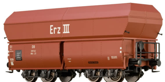 Brawa 45908 - German 10 Piece Self Unloading Coal Car Set of the DB