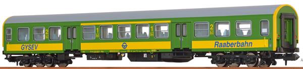 Brawa 46036 - Hungarian Passenger Car ABYZ of the GYSEV