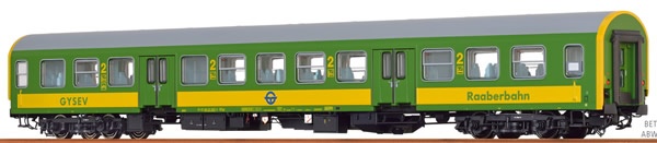 Brawa 46037 - Hungarian Passenger Car BDYZ of the GYSEV