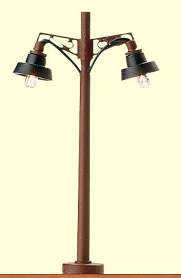 Brawa 4611 - N Wooden-mast Light, 2-arm