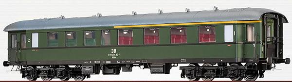 Brawa 46159 - German Passenger Coach AB4yse-37/56 of the DR