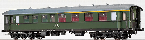 Brawa 46159 - German Passenger Coach AB4yse-37/56 of the DR