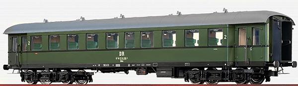 Brawa 46160 - German Passenger Coach Bye-36/50 of the DR