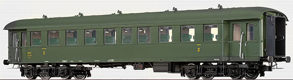 Brawa 46163 - French Passenger Coach Bye-36/50 of the SNCF
