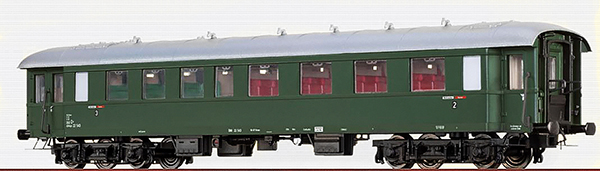 Brawa 46165 - Austrian Passenger Coach AB4yse-37/57 of the OBB