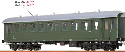 Brawa 46167 - Austrian Passenger Coach Bye-36/50 of the OBB