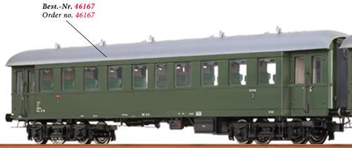 Brawa 46167 - Austrian Passenger Coach Bye-36/50 of the OBB
