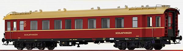 Brawa 46168 - German Sleeping Car C4üPWL
