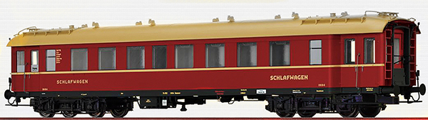 Brawa 46168 - German Sleeping Car C4üPWL