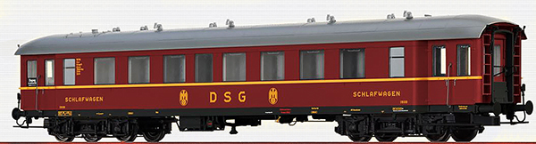 Brawa 46169 - German Sleeping Car WL4ü-36/50